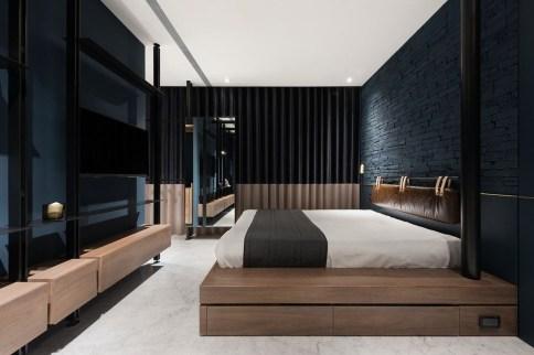 Amazing Bedroom Designs With Bathroom 33