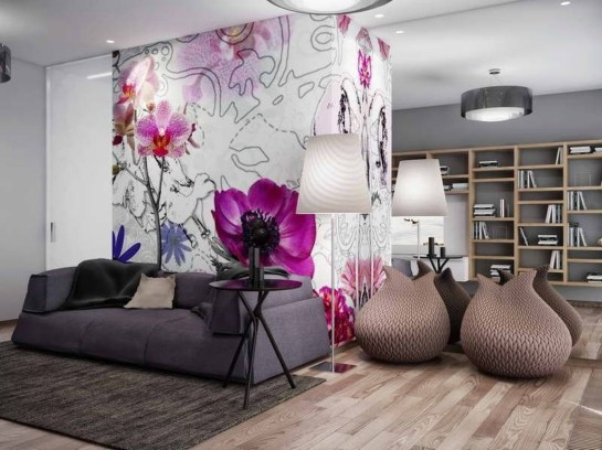 Trendy Wallpaper Designs To Create Different Moods In The House 22