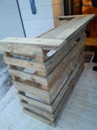 Adorable Crafty Diy Wooden Pallet Project Ideas 19