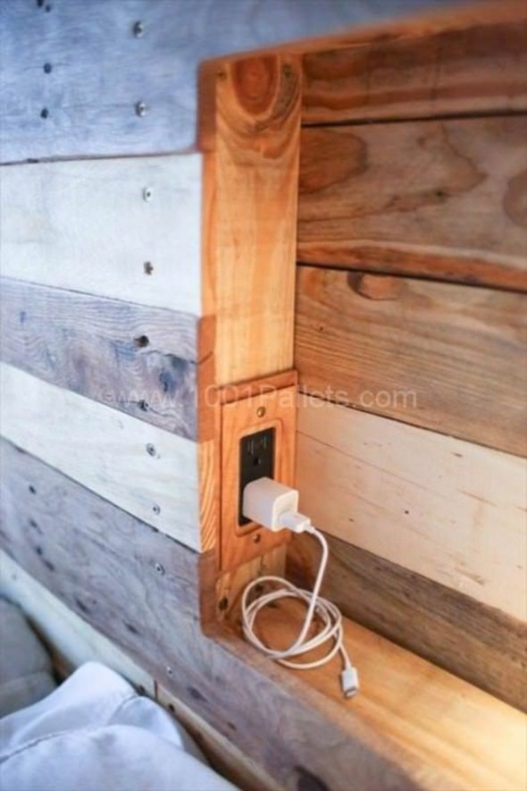 Adorable Crafty Diy Wooden Pallet Project Ideas 49