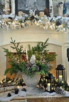 Adorable White Christmas Decoration Ideas 32