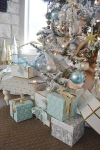 Adorable White Christmas Decoration Ideas 40