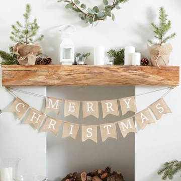 Awesome Scandinavian Christmas Decor Ideas 54