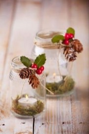 Charming Christmas Candle Decor Ideas 29