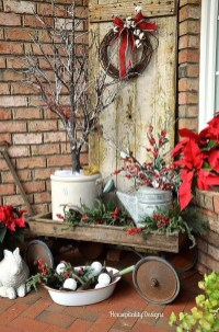 Cute Outdoor Christmas Decor Ideas 11
