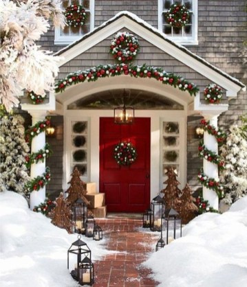 Cute Outdoor Christmas Decor Ideas 15