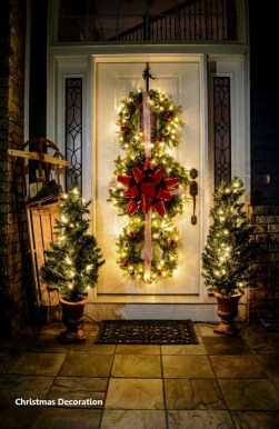 Cute Outdoor Christmas Decor Ideas 34
