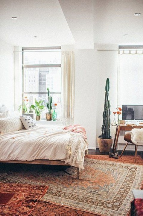 Elegant Bohemian Bedroom Decor Ideas 52