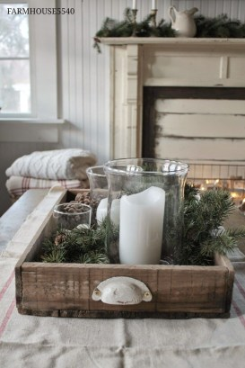 Fascinating Farmhouse Christmas Decor Ideas 15
