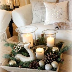 Gorgeous Christmas Apartment Decor Ideas 31
