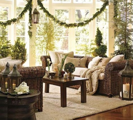 Lovely Red And Green Christmas Home Decor Ideas 20