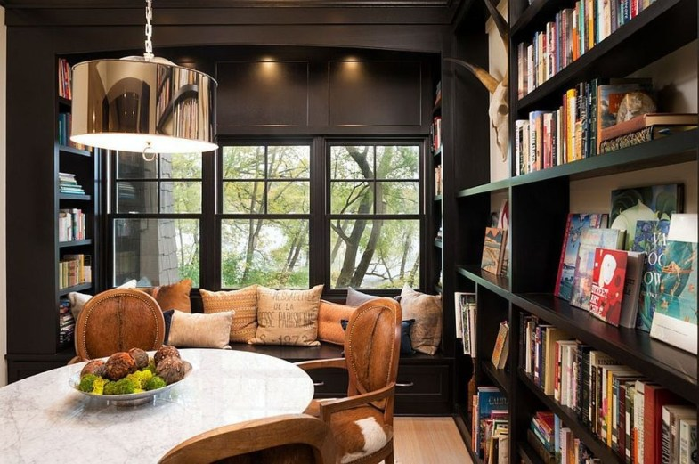 Astonishing Reading Room Design Ideas For Your Interior Home Design 47