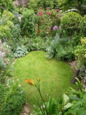 Attractive Small Patio Garden Design Ideas For Your Backyard 15