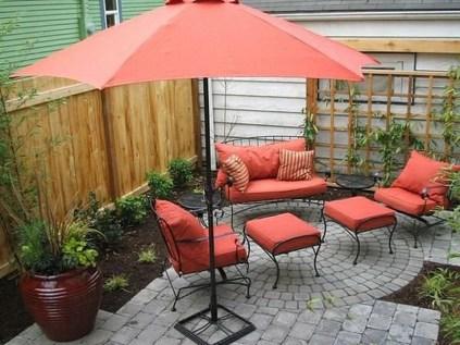 Attractive Small Patio Garden Design Ideas For Your Backyard 19