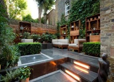 Attractive Small Patio Garden Design Ideas For Your Backyard 36