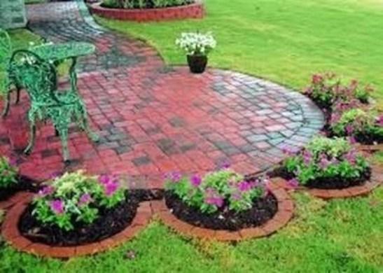 Attractive Small Patio Garden Design Ideas For Your Backyard 50