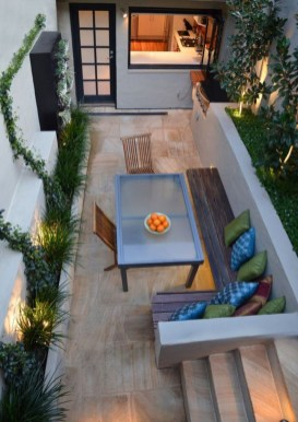 Attractive Small Patio Garden Design Ideas For Your Backyard 53