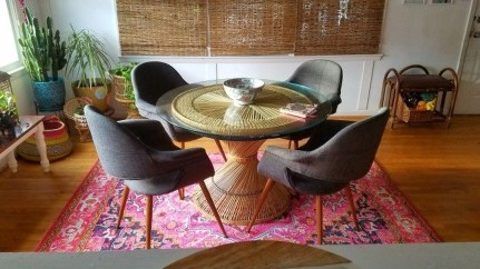 Awesome Bohemian Dining Room Design And Decor Ideas 26