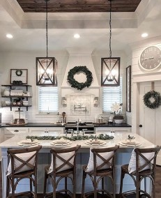 Awesome Farmhouse Kitchen Design Ideas 31