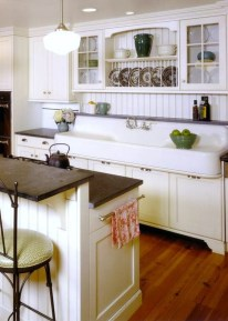 Awesome Farmhouse Kitchen Design Ideas 49