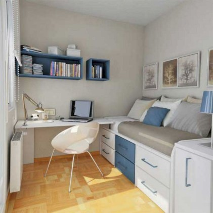 Creative Diy Bedroom Storage Ideas For Small Space 37