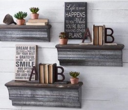 Inspiring Diy Wood Shelves Ideas On A Budget 11