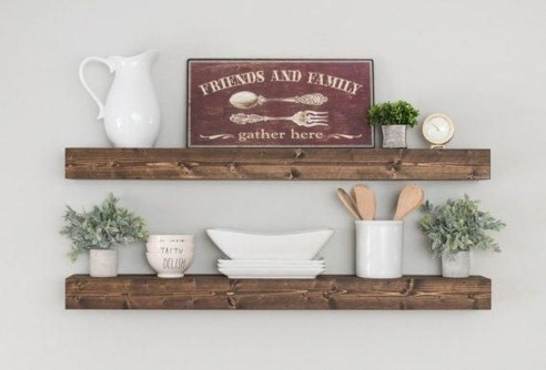 Inspiring Diy Wood Shelves Ideas On A Budget 52