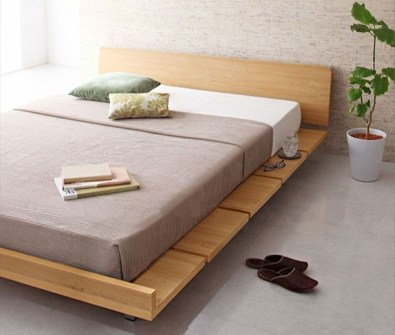 Lovely Diy Wooden Platform Bed Design Ideas 40