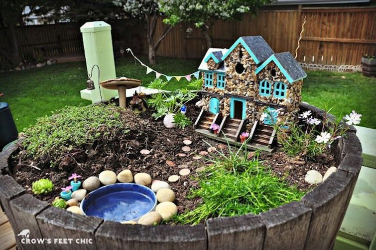 Magnificient Diy Fairy Garden Ideas With Plants 09