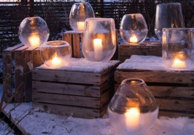 Outstanding Diy Outdoor Lanterns Ideas For Winter 37