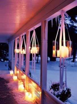 Outstanding Diy Outdoor Lanterns Ideas For Winter 43