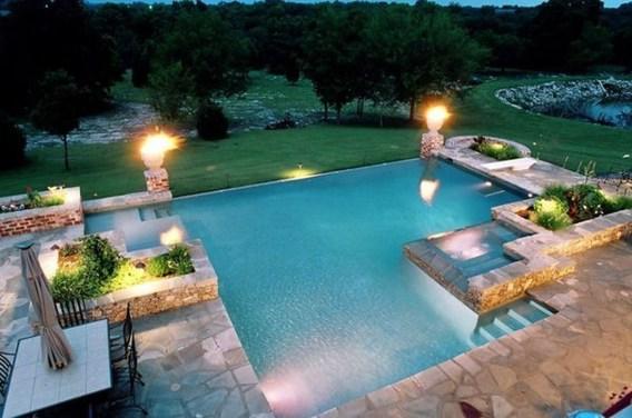 Perfect Mediteranean Swimming Pool Design Ideas 10