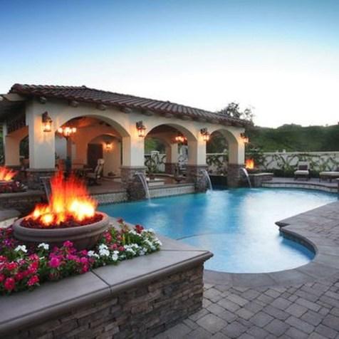 Perfect Mediteranean Swimming Pool Design Ideas 31