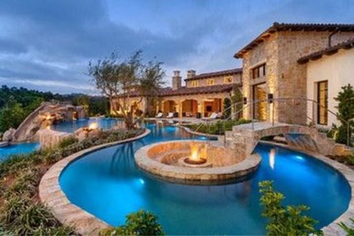 Perfect Mediteranean Swimming Pool Design Ideas 43