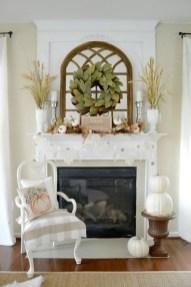Popular Farmhouse Mantel Decorating Ideas 46