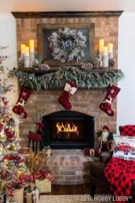 Romantic Rustic Christmas Decoration Ideas 03