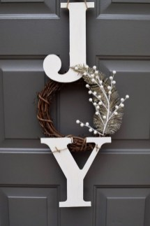 Romantic Rustic Christmas Decoration Ideas 20