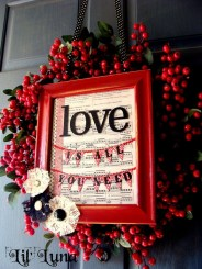 Stunning Red Home Decor Ideas For Valentines Day 12