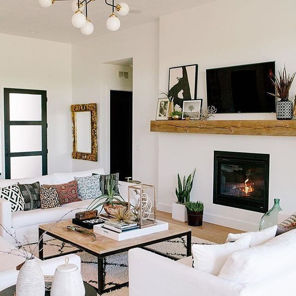30 Affordable Apartment Living Room Design Ideas With Black And White Style Trendecors