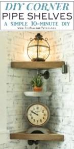 Amazing Corner Shelves Design Ideas 31