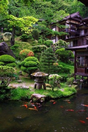 Cute Japanese Garden Design Ideas 34