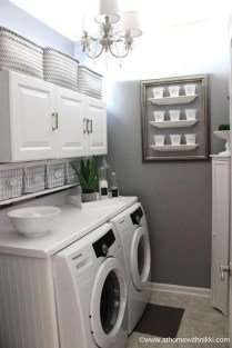 Enjoying Laundry Room Ideas For Small Space 20