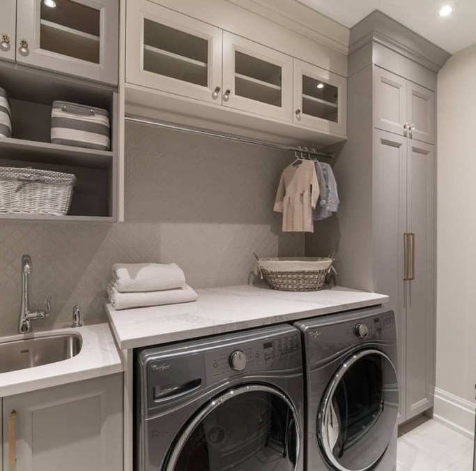 Enjoying Laundry Room Ideas For Small Space 49