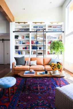 Fascinating Colorful Rug Designs Ideas For Living Room 26