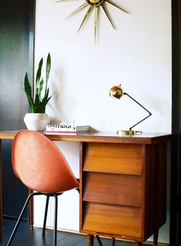 Gorgeous Industrial Table Design Ideas For Home Office 53