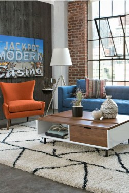 Modern Mid Century Apartment Furniture Design Ideas 21