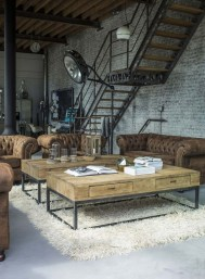 Perfect Industrial Style Loft Designs Ideas For Living Room 36