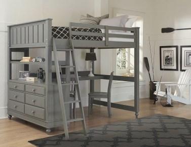 Relaxing Small Loft Bedroom Designs 12