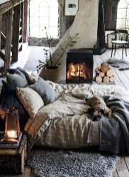 Relaxing Small Loft Bedroom Designs 14