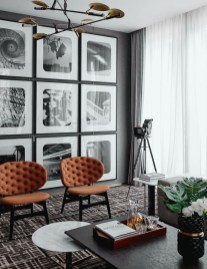 Unique Mid Century Living Room Ideas With Furniture 39